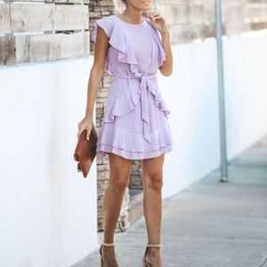 Sugar + Lips Lilac Dress XS